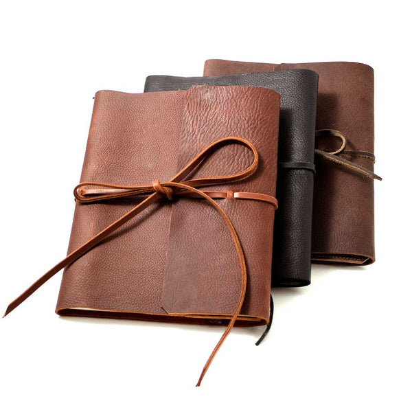 Three Color Choices Leather Journal