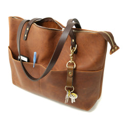 The Deluxe Leather Tote