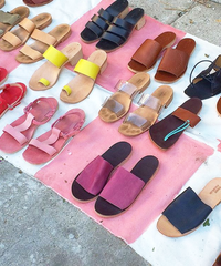 Leather Sandal Making :: Stace Fulwiler