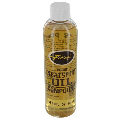Neatsfoot Oil Compound Plastic 8oz