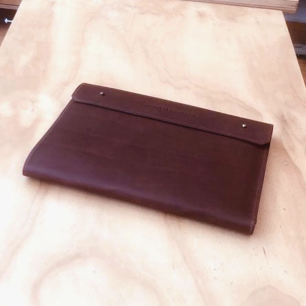 Legal Size Leather Pad-folio