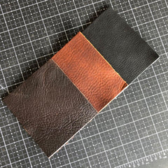 Brown, Black and Tan (Color choice for the soft tote bag body leather)