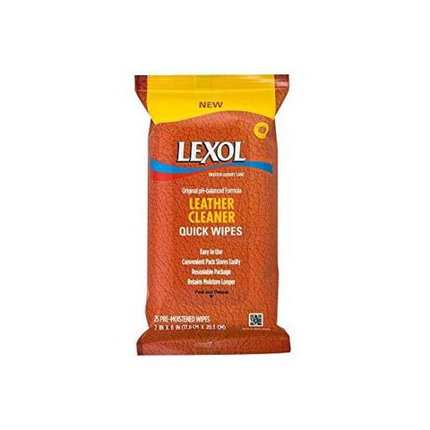 Leather Cleaner Quick Wipe 20 ct