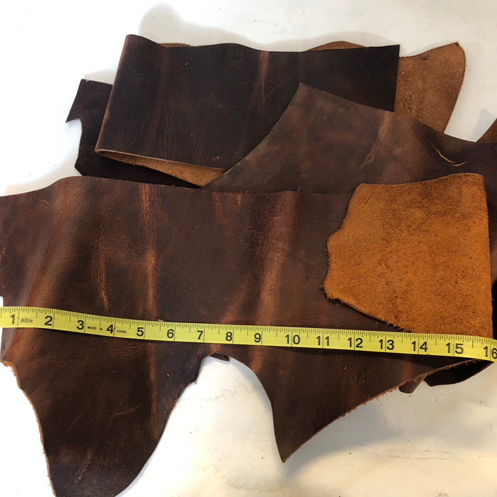 Leather Scrap Bag