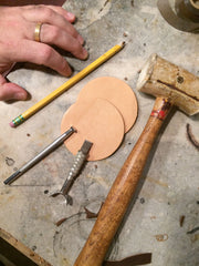 Tooling Workshop - Leather Coasters