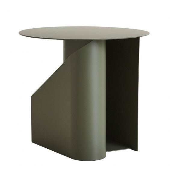 WOUD Sentrum Side Table - Dusty Green