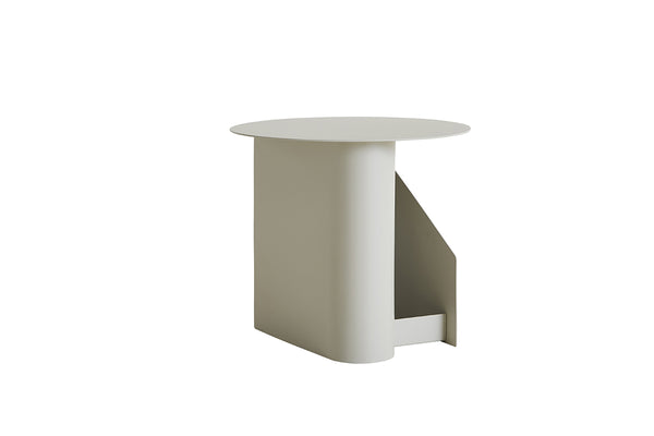 WOUD Sentrum Side Table - Warm Grey