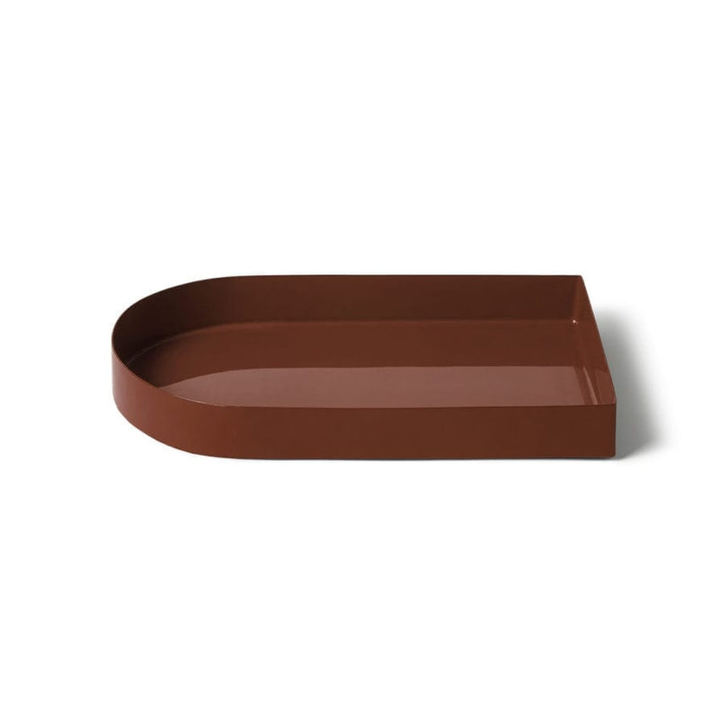 LIGHTLY Arc Tray - red ochre