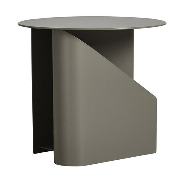 WOUD Sentrum Side Table - Taupe