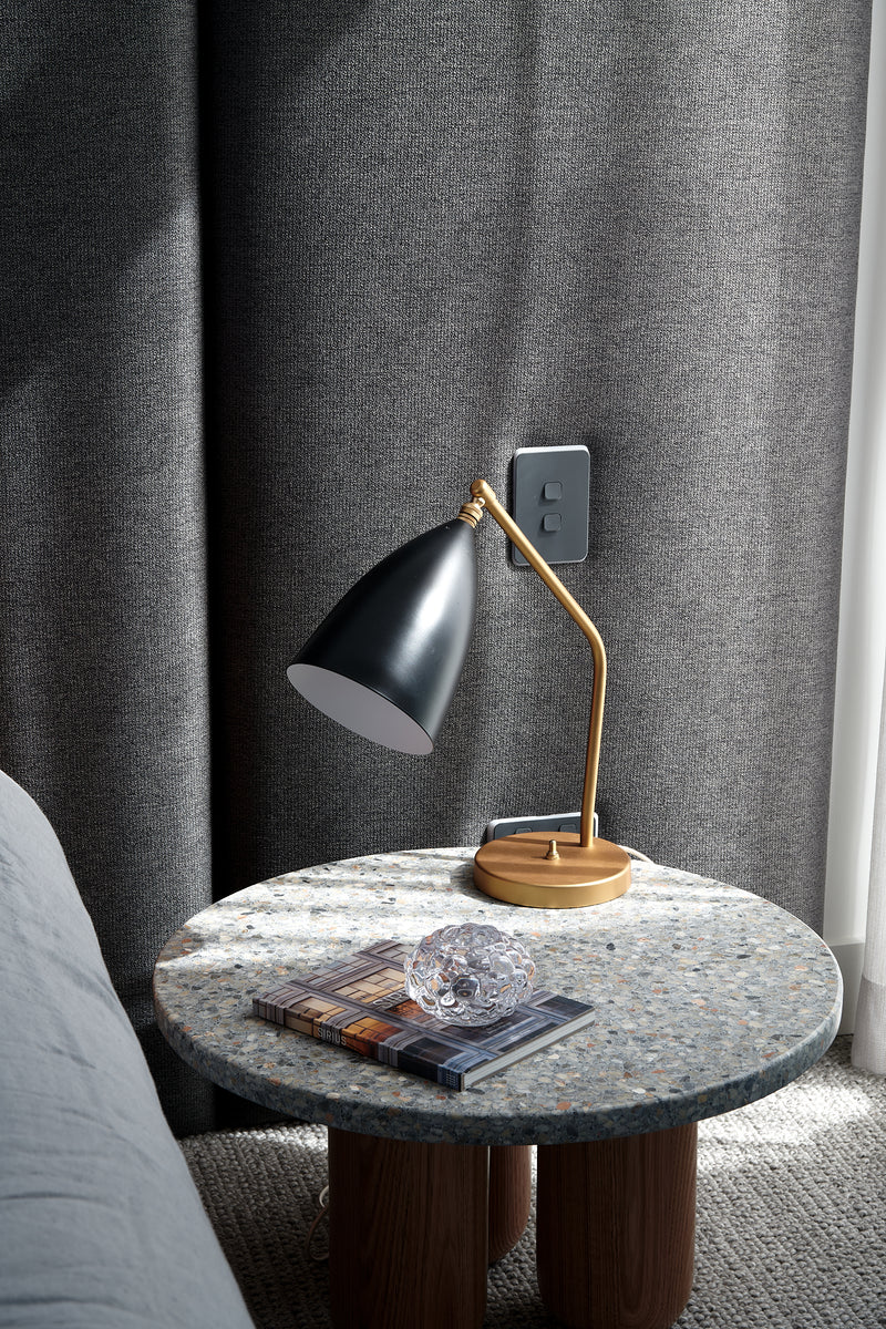 BIJOUX 'dome' terrazzo side table