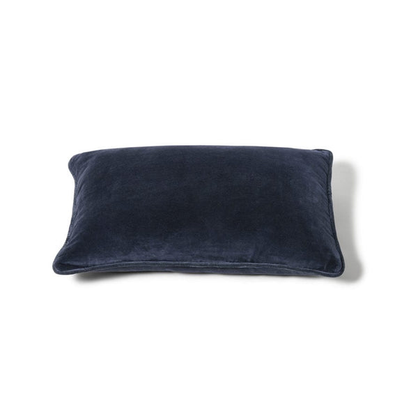 LIGHTLY Cushion - Midnight cotton velvet