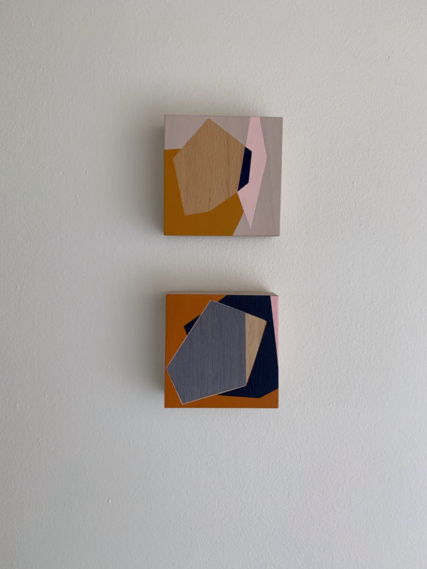 MARNIE ROSS 'By Degrees 2' and 'Memories 8' pair