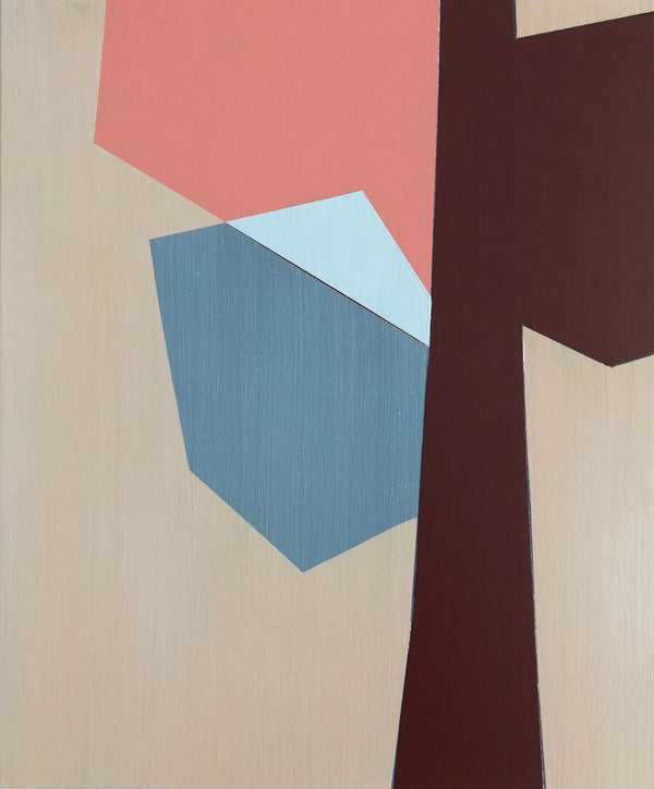 MARNIE ROSS 'Autumn 1' acrylic on wood