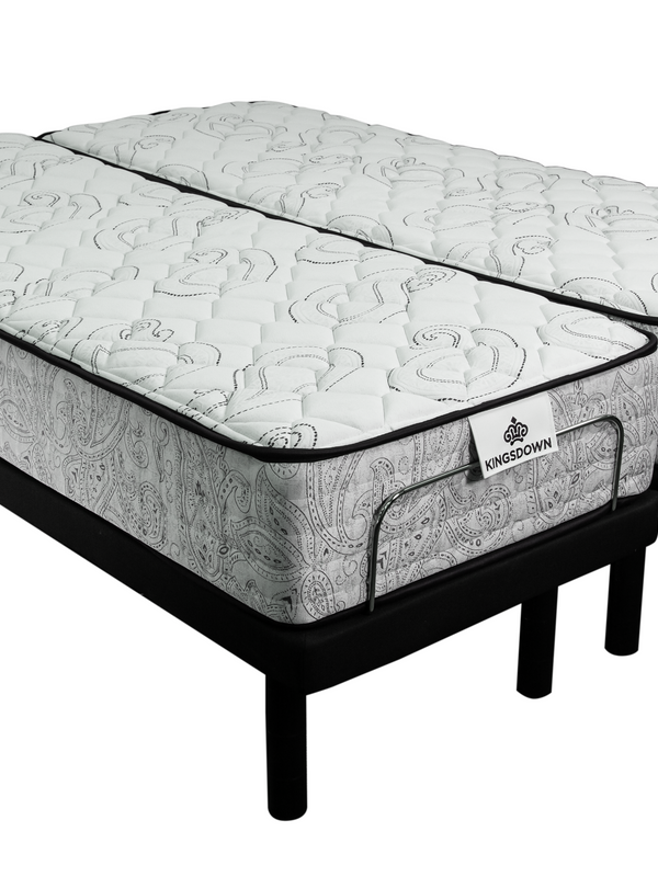 Kingsdown Luxury Split Queen Adjustable Bed Package