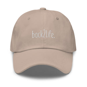 back2life. Dad hat