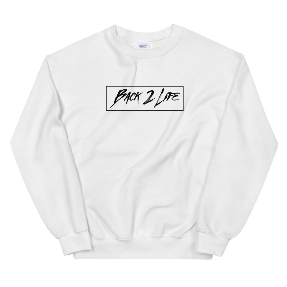 Back 2 Life Unisex Crew-neck (White)