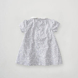Silver Cross floral smock dress (0-3 months)