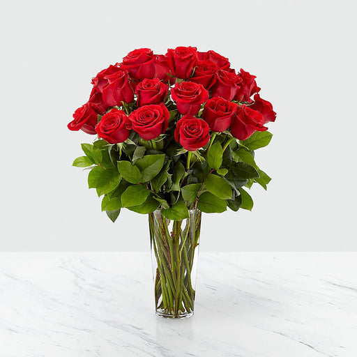 Long Stem Fresh Cut Roses Bouquet - Custom Delivery Date - Choose Your Colors - Milena Bouquet