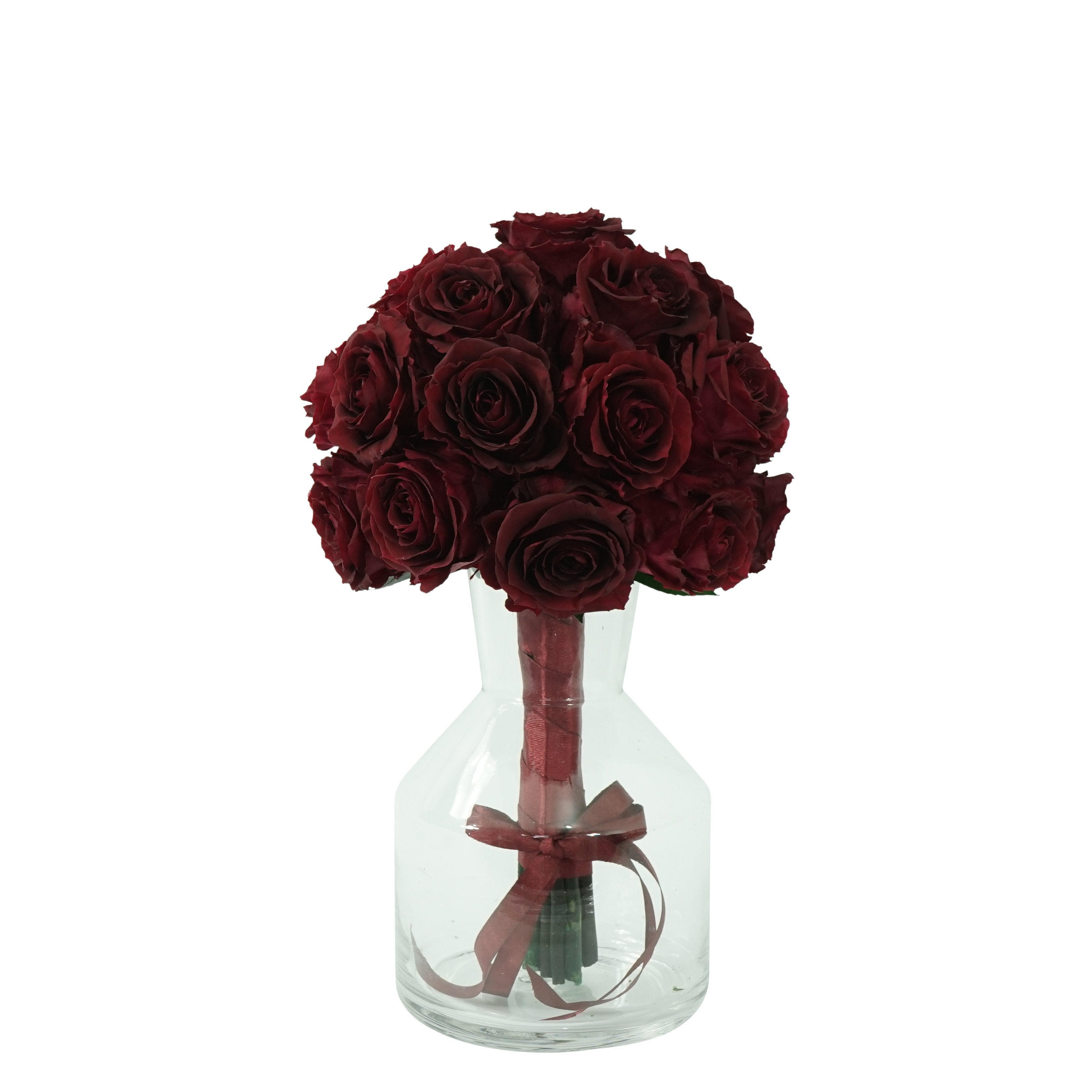 Eternal Red Roses Bouquet | Preserved Large Roses - Milena Bouquet