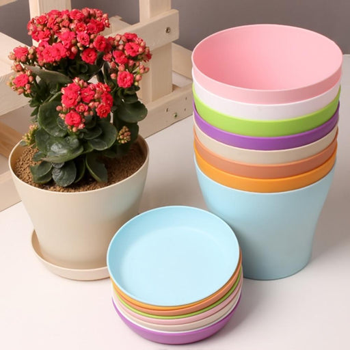 Flower Pot | Made With Colorful And Durable Resin - Milena Bouquet