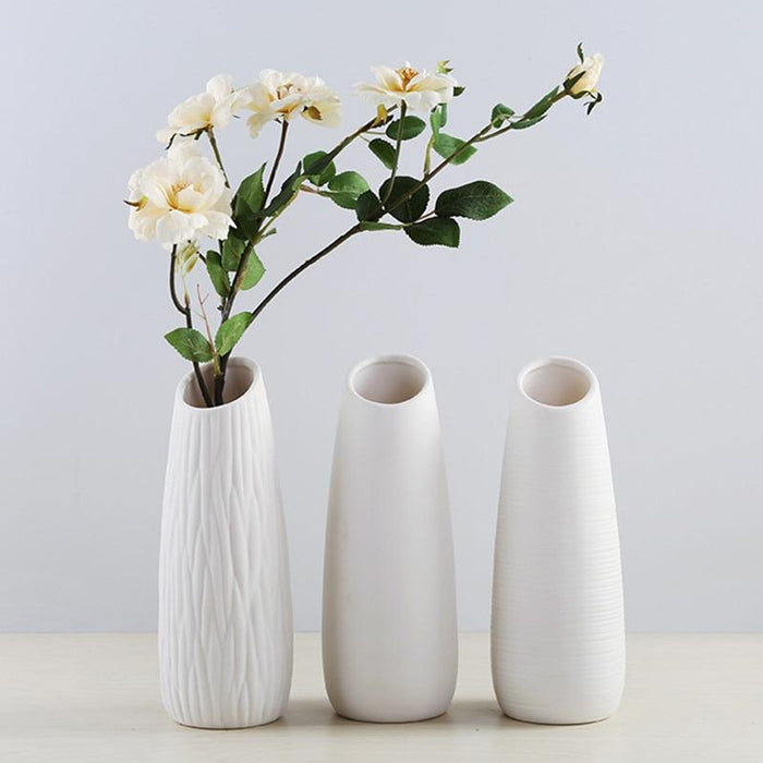 Ceramic Flower Vase - Milena Bouquet