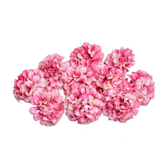 10 pcs Hydrangeas Flowers Heads - Milena Bouquet