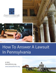 How to answer a lawsuit in Pennsylvania