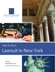 How to file a lawsuit in New York