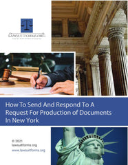 New York Request For Production of Documents