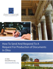 Ohio request for production of documents