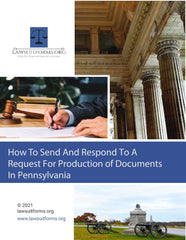 Pennsylvania request for production of documents