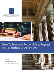 Request for production of documents form