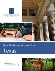 How to answer a lawsuit in texas