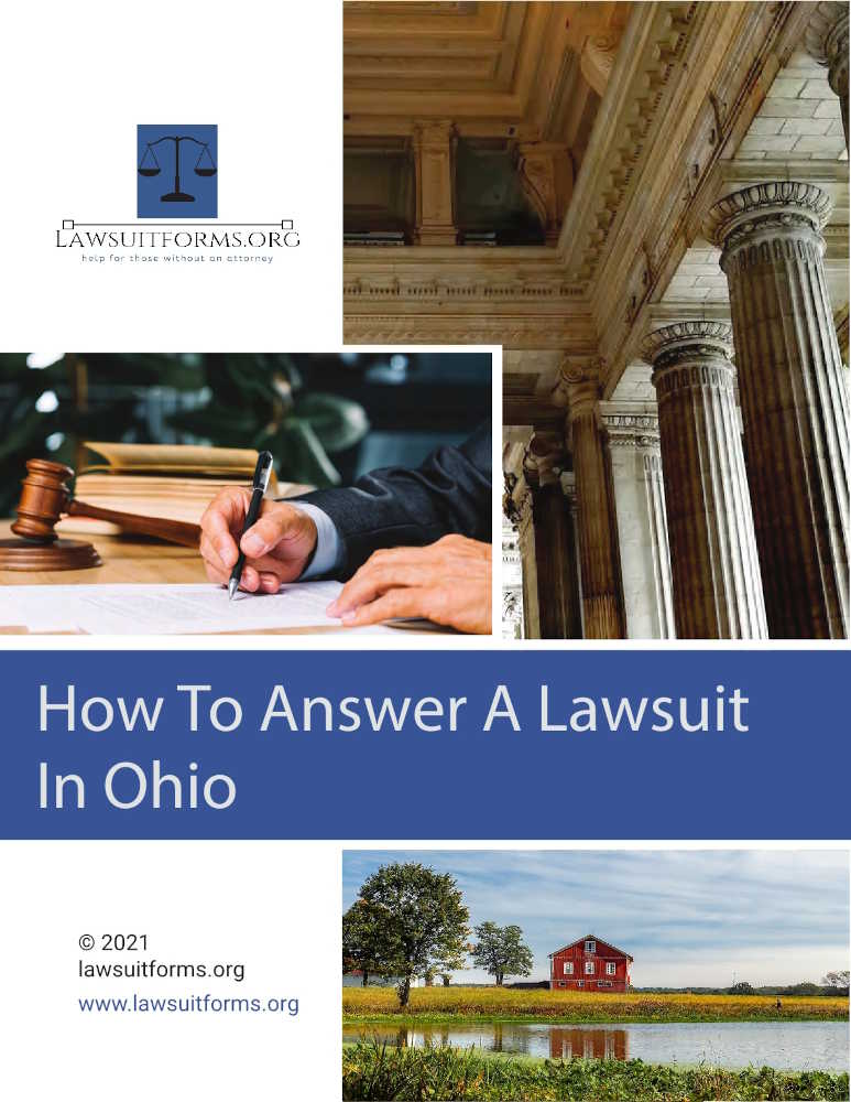 How to answer a civil summons in Ohio