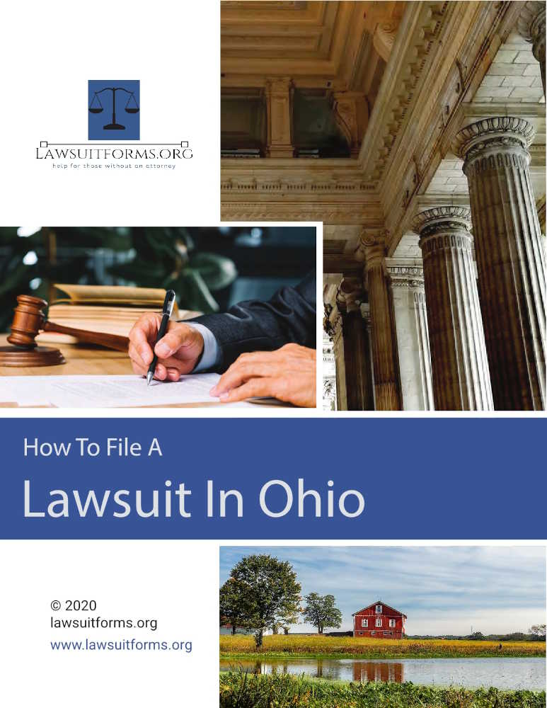 How to file a lawsuit in Ohio