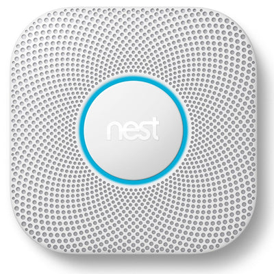 Nest Protect Wi-Fi Smoke and Carbon Monoxide Alarm Front View