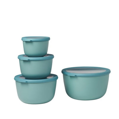 Mepal Multi Bowl Set 4pc Oval Green RST62330GRN