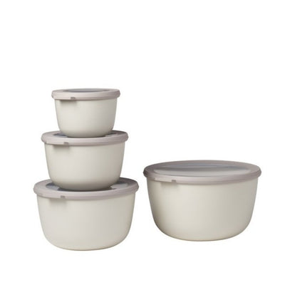 Mepal Multi Bowl Set 4pc Oval White RST62330WH