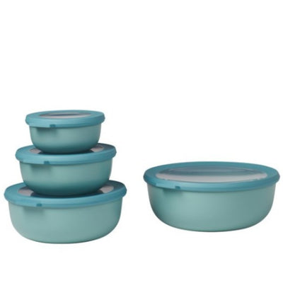 Mepal Multi Bowl Set 4pc Round Green RST62320GRN