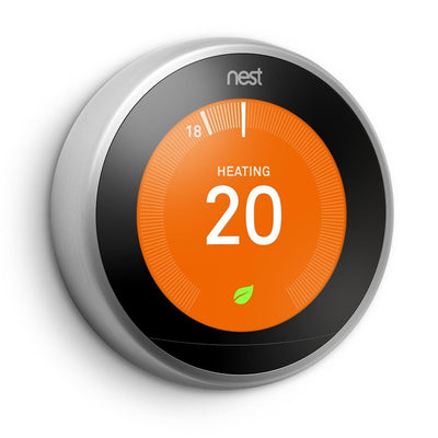 Nest Learning Thermostat Front View