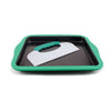 Perfect Slice Big Cookie Sheet with Silicone Sleeve and Slicing Tool