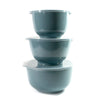 Rosti Margrethe 3 pc Bowl and Lid Set Nordic Green RST3000NG