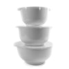 Rosti Margrethe 3 pc Bowl and Lid Set White RST3000W