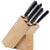 Scanpan 6 Piece Knife Block Classic