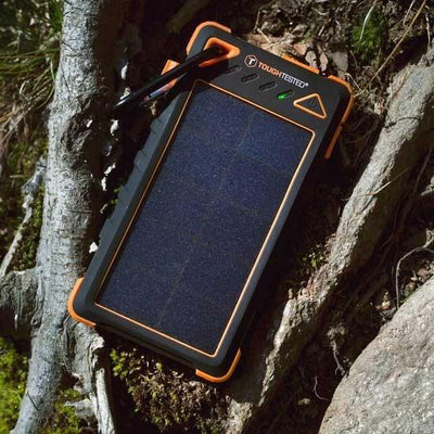 Tough Tested 8000mAh Powerbank Solar Water Resistant IP54 2