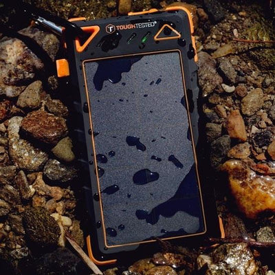 Tough Tested 8000mAh Powerbank Solar Water Resistant IP54 3