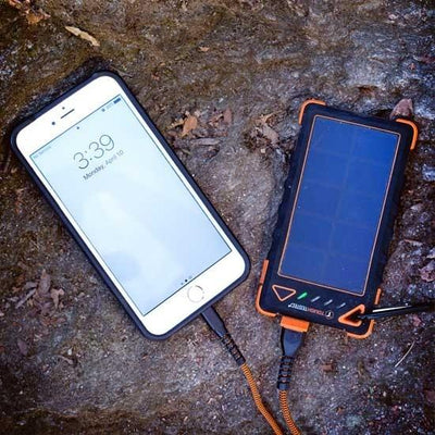 Tough Tested 8000mAh Powerbank Solar Water Resistant IP54 4