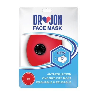 Dr Jon Face Mask Washable 5 Layer with Optional Filter