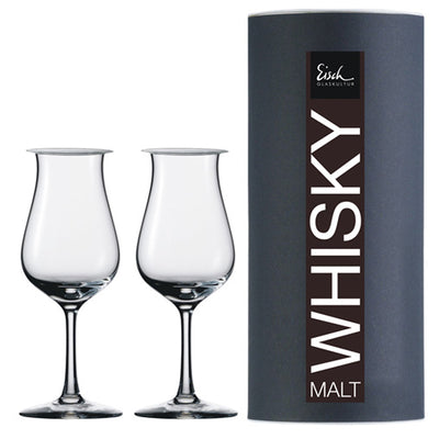 Eisch Sensis Plus Single Malt Set with Lids 2Pk
