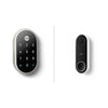 Google Nest X Yale Doorlock and Hello Doorbell Bundle
